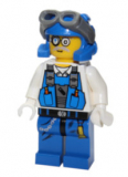 Minifigur - Power Miner - Brains, Goggles