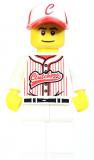 Minifigur - Sammelfigur - col047 - Baseballspieler