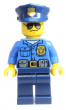 LEGO® Minifigur - City - cty0450 - Polizist - 60042