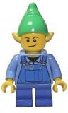 LEGO® Minifigur - Weihnachten - Elf - Blue Overall - 10245