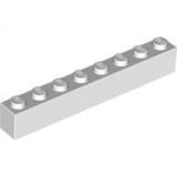 3008 300801 Baustein 1 x 8 - weiß