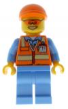 LEGO® Minifigur - City - cty0677 - Airport Serviceangestellter