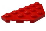 3419 241921 Flügelplatte 3 x 6 - rot