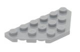 2419 4211352 Flügelplatte 3 x 6 - hellgrau