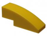 50950 4247771 Schrägstein 1 x 3 gerundet - gelb