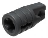 30552 4210694 Scharnier Zylinder 1 x 2 - dunkelgrau