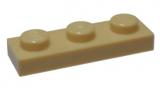 3623 4121921 Bauplatte 1 x 3 - beige