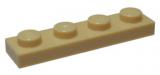 3710 4113233 Bauplatte 1 x 4 - beige