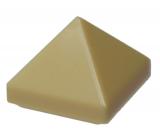 35344 6249125 Schrägstein Pyramide 1 x 1 - beige