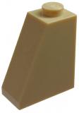 60481 4626200 Schrägstein 2 x 1 x 2 65° - beige