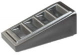 18863 6092115 Schrägstein 18° 2 x 1 x 2/3 - metallic silber