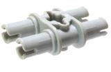 65098 6315900 Pin Doppelverbinder - hellgrau