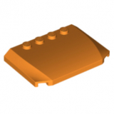 52031 6224785 Motorhaube 4 x 6 x 2/3 - orange