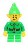 col163 - Minifigur - Holiday Elf