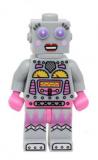 col178 - Minifigur - Lady Robot