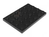 3032 303226 Platte 4 x 6 - schwarz