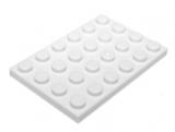 3032 303201 Platte 4 x 6 - weiß