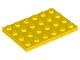 3032 303224 Platte 4 x 6 - gelb