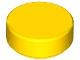 98138 6070714 Fliese 1 x 1 rund - gelb