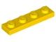 3710 371024 Platte 1 x 4 - gelb