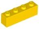 3010 301024 Stein 1 x 4 - gelb