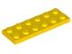 3795 379524 Platte 2 x 6 - gelb