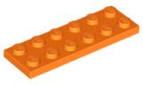 3795 4121741 Platte 2 x 6 - orange