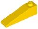 60477 4656699 Schrägstein 1 x 4 x 1 - gelb