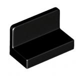 26169 6146220 Panel 1 x 2 x 1 - schwarz