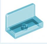 15714 6066124 Panel 1 x 2 x 1 - transparent hellblau