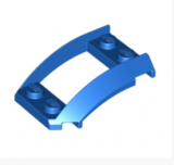 47755 4626361 Kotflügel 2 x 4 x 1 - blau