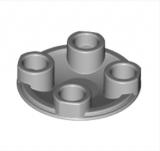 2654 4278273 Platte Gleiter 2 x 2 - hellgrau