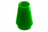 59900 4529239 Kegelstein 1 x 1 - grün
