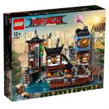 70657 Ninjago City Hafen - 3553 Teile - 13 Minifiguren