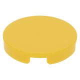 4150 415024 Fliese 2 x 2 rund - gelb (Unterseite x)