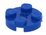 4032 403223 Platte 2 x 2 rund - blau