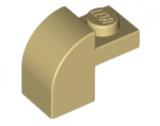 6091 4273526 Bogenstein 1 x 1 x 1 1/3 - beige