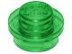 30057 34823 6240221 Platte 1 x 1 - transparent grün