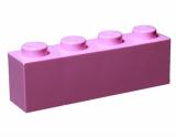 3010 4518890 Baustein 1 x 4 - rosa