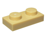 3023 4113917 Platte 1 x 2 - beige