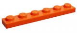 3666 4173332 Platte 1 x 6 - orange