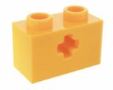 32064 4233484 Stein 1 x 2 mit Achsloch - gelb