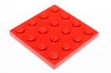 3031 303121 Bauplatte 4 x 4 - rot