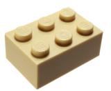 3002 4159739 Stein 2 x 3 - beige
