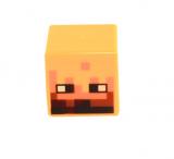 19729 6162509 Minecraft Figurenkopf Würfel - gelb