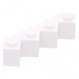 14413 6173055 Stein modifiziert 4x4x1 - weiß