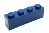 3010 4264569 Baustein 1 x 4 - dunkelblau